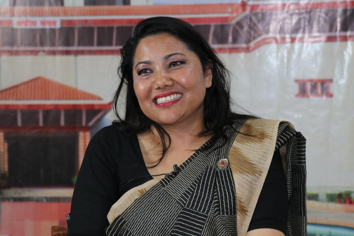रामकुमारी झाँक्री भन्छिन् : मुख्यमन्त्रीले काम गर्नै सकेनन्   Nagarik News - Nepal Republic Media