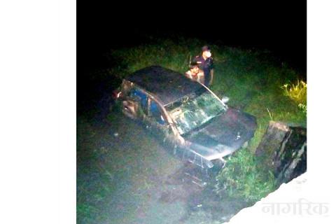 रूपन्देहीमा कार दुर्घटना, तीनको मृत्यु