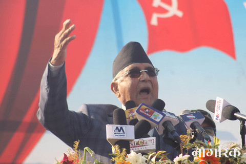 विप्लवसँगको सहमतिपछि नेपाल शान्तिपूर्ण युगमा प्रवेश : प्रधानमन्त्री ओली