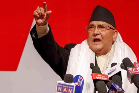 जागिर खान चाहनेहरू संसद लम्ब्याउन चाहन्छन् : प्रधानमन्त्री ओली